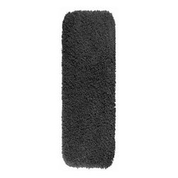 "Garland Rug - Bath Mat: Accent Rug: Serendipity Dark Gray 22"" x 60"" Bathroom - Shop for Flooring at The Home Depot. This heavyweight shag bath rug will fit easily into any bathroom decor. Serendipity is made with 100% Nylon for superior softness and colorfastness. And is proudly made in the USA.."