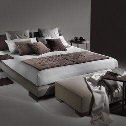Flexform Beds - Long Island bed by Flexform