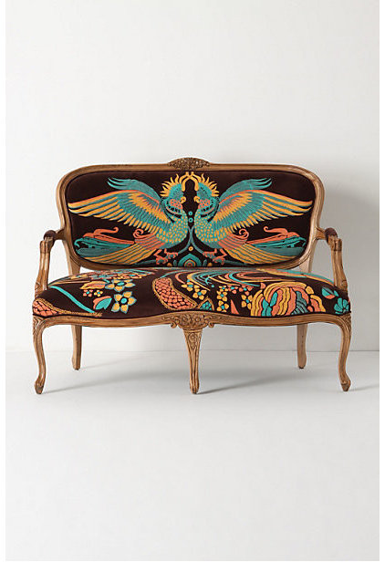 Eclectic Loveseats by Anthropologie