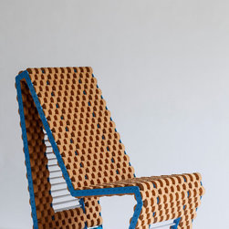 Custom Cork Chair by Quartertwenty - This chair is a real design piece and can be customized through Etsy. It's funky and one-of-a-kind for the individual with a love for sustainable materials.