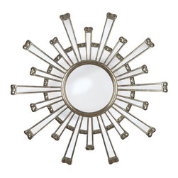 Panel Mirror Sunburst Mirror -