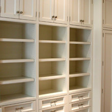 Traditional Closet by Woodland Partners Custom Builders