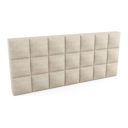"Viesso - Upholstered Headboard - 84""l x 36""h x 5""d - This is perfect if you already have a bed and just need the headboard piece. We offer a lot of  standard sizes to select from, or we can customize to the inch to build you the perfect sized headboard. There are also some finish options like tufting, quilting and storage."