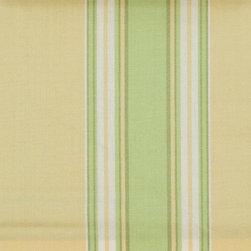 Stripe - Gold/Green Upholstery Fabric - Item #1007274-68.