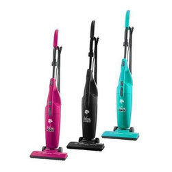 Dirt Devil Versa Power Stick Vac - Dirt Devil was my first vacuum when I was a kid cleaning up kitty litter. It's light and maneuverable, plus these come in super saturated colors. It even has a detachable duster making it the perfect broom replacement.