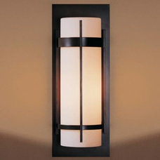 Outdoor Umbrellas Banded Aluminum Outdoor Sconce by Hubbardton Forge