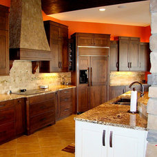 Traditional Kitchen Cabinets by Consolidated Kitchens & Fireplaces