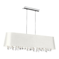 Dainolite - Dainolite BAR4410-693-PC Baroness 5 Light Chandelier - Features: