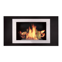 "Bioflame Lorenzo 17,000BTU 16"" Burner Stainless Steel Wall Mounted Fireplace - 32964001 Features:      - 17,000BTU - 5.0Kw/h (heats on average 69m2 or 742ft2) - Stainless Steel Firebox Construction- Brushed Stainless Steel Fascia - 16"" Burner- H 23.8"" (579mm) W 45.25"" (1149mm) D 6.75"" (171mm)FuelWant to know something sweet about the ethanol fuel used in Bio Flame fireplaces? It's all based on sugars!That's right, the Bio Flame ethanol fuel is so environmentally friendly that it is created through a fermentation process of sugars, including those from sugar cane, corn, beets, and potatoes. These natural, all-reable resources work together to create an ethanol fuel source that provides not only heat, but a beautiful, dancing flame, as well.Some of the additional benefits of using the Bio Flame ethanol fuel include:Environmentally friendly. Ethanol fuel is all-natural and made from reable resources. This means that you are not cutting down valuable trees that take much longer to regenerate.Better breathing. There is no air pollution with the Bio Flame ethanol fuel. This means that you, as well as everyone else, help to keep chemicals and toxins from being released into the air. You will breathe better in your home, and everyone else benefits from the reduction of pollutants, as well. There's no odor or smoke to worry about, either, providing you with a safe flame.Cleaner source. Ethanol fuel creates a clean heat source, eliminating the need to worry about cleaning soot or ash. Cleaning the Bio Flame fireplace is a breeze.Super simple. The ethanol fuel used in the Bio Flame fireplace is simple to use. Within seconds, you will have it refilled, never having to worry about spills or trekking out into the cold weather for another log.The Bio Flame environmentally friendly fireplaces use ethanol fuel, because it provides a better heat choice for you, and for everyone else. You never compromise on having a beautiful-looking fireplace, warmth, and a beautiful flame. Ethanol fuel provides all the things you want, and nothing you don't. When it comes to having a fireplace, it doesn't get much sweeter than that!Benefits of an Ethanol Fireplace When it comes to purchasing a fireplace, you have a lot of options  available to you. But that doesn't mean they are all going to give you  great benefits. Sure, they will all provide you with some heat (or at  least should) but, for some fireplaces, that is where the benefits both  begin and end. When you choose a Bio Flame environmentally friendly  fireplace, you get a list of benefits, some in areas you may not even  have thought about! Here are some of the benefits you will get by using a Bio Flame ethanol fuel fireplace:No heat loss. With a traditional fireplace that has  a chimney, you will lose 70 percent of the heat, and will only get to  warm your home with 30 percent. With a Bio Flame ethanol fuel fireplace,  however, your home will get 100 percent of the   heat. There is no  chimney, so all the heat stays in the home.Reable resources. Ethanol fuel that is used in  the Bio Flame fireplace is made from sustainable resources. The ethanol  fuel is made from fermenting sugars, including the use of cane sugar,  beets, potatoes, and corn. Our oxygen-producing trees never get cut  down, just to be burned up.No air pollution. Traditional fireplaces put a lot  of pollutants into the air, including chemicals, smoke, and toxins. The  Bio Flame ethanol fireplace burns clean, so you never have to worry  about any air pollution from it, nor about any ash, soot, or smoke.Beautiful appearance. Many people fall in love with  the beautiful, stylish designs in which the Bio Flame ethanol  fireplaces are available. They can make any home or office look  top-notch.All natural. The ethanol fuel that is used in the  Bio Flame environmentally friendly fireplace is all-natural. Made from  plant-based materials, it is harmless, and free of toxins.Super easy. Not only is the ethanol fireplace  simple to use, but the ethanol fuel takes only seconds to refill.  Setting up the ethanol fireplace for the first time is also a breeze,  with most people having it ready to use within 30 minutes. Obtaining  ethanol fuel is also a much easier process than trying to obtain wood to  burn.Custom design options. Bio Flame will consider  custom-design options, so if you have something in mind that you want,  let them know. Chances are, they can help meet your needs.From retaining more heat to being environmentally friendly and looking  great, the ethanol fuel fireplace comes with a host of benefits. These  are all things to consider and compare when deciding which fireplace is  the right one for you. We are confident that you won't find any other  fireplace that comes close to offering all these benefits! 4001b"
