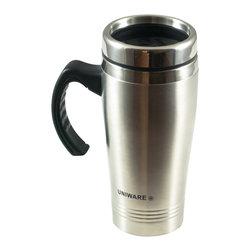 Uniware - Stainless Steel Travel Mug - 16 oz Stainless Steel Travel Mug
