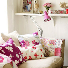 eclectic  pink shabby