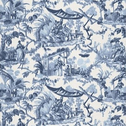 Pavillon Chinois Fabric