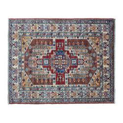 1800GetARug - Fine Kazak Oriental Rug Hand Knotted Rug Tribal Design Sh11130 - About Tribal & Geometric
