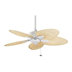 "Fanimation - Fanimation FP7500MW Windpointe 44"" 5 Blade Ceiling Fan - Blades Included - Included Components:"