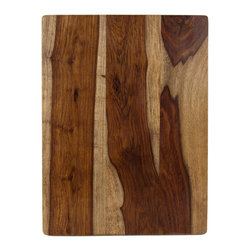 Architec3 Housewares - Architec™ Gripperwood™ Gourmet Cutting Board - Architec™ Gripperwood™ Cutting Board. Made from exotic Indian Sheesham wood using plantation harvesting and old fashioned dowel construction. NonSlip rubber feet injected into the wood with a heat pressure process.