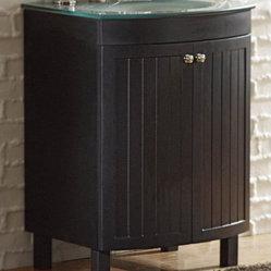 """allen + roth - allen + roth Espresso Cavanaugh Bath Vanity with Top - 24"""" Cavanaugh Espresso ..."""