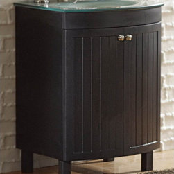 "allen + roth - allen + roth Espresso Cavanaugh Bath Vanity with Top - 24"" Cavanaugh Espresso Vanity with Top"