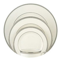 Lenox - Lenox Murray Hill 5-Piece Place Setting - Lenox Murray Hill 5-Piece Place Setting