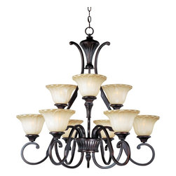 Maxim Lighting - 9 Light ChandelierAllentown Collection - Lighting your life since 1970, Maxim Lighting is committed to offering you outstanding quality and satisfaction.