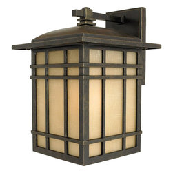 Quoizel Lighting - Quoizel Lighting HC8409IB 1 Light Large Outdoor Wall SconceHillcrest Collection - For over seventy years, Quoizel lighting has been dedicated to the design and production of its diversified line of fine lighting products and home accessories.