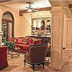 Home Staging of Tuscan Home for Sale -