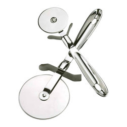 All Clad - All Clad SS Pizza Cutter - All-Clad's collection of kitchen tools is the perfect companion for All-Clad cookware. The tools have an 18/10 stainless steel construction, making them as sturdy and durable as All-Clad pans. All-Clad tools complement and reflect the brands distinctive style and superior performance to elevate your talent in the kitchen.