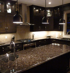 contemporary kitchen cabinets by Steve Manning/Kekuli Bay Cabinetry