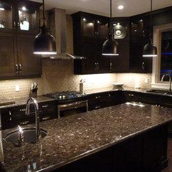 Custom Kitchen - Designed by Steve Manning