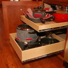 Traditional Cabinet And Drawer Organizers by ShelfGenie of Kentucky