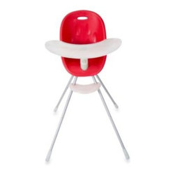 Phil & Teds - phil&teds Poppy High Chair in Cranberry - The super cute Poppy high chair is an adaptable chair that grows with your baby. Its fresh and modern design is as stylish as it is practical and is sure to complement any interior.