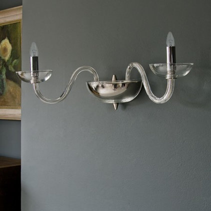modern wall sconces by Graham and Green