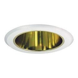 "Nora Lighting - Nora NT-5021 5"" Reflector Cone Trim, Nt-5021g - 5"" Reflector Cone Trim"