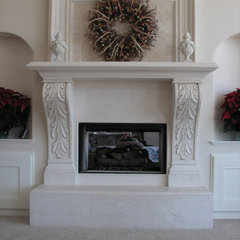 traditional fireplaces by Interstone