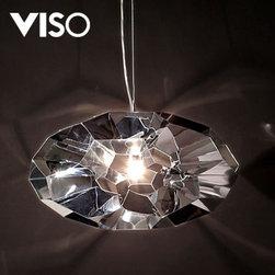 Viso Diamond Pendant Light - design by Hiroki Takada