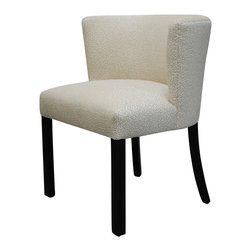 Landy Dining Chair - Custom sizing, cushion options, trim options and finish options available. All BJORK STUDIO upholstery is bench-made in Atlanta, GA with kiln-dried hardwood frames, eight-way hand-tied spring construction and the most organic materials possible.