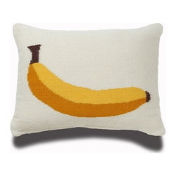 Jonathan Adler Banana Pillow - There's something very Velvet Underground about this banana pillow from Jonathan Adler. As a bonus, when you flip it over, the banana is halfway peeled. Too cute!