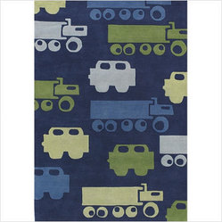 Hand-tufted Contemporary Kids KID-7624 Rug