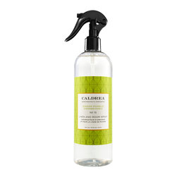 CALDREA - Ginger Pomelo Linen & Room Spray - Natural Essential Oils - Grapefruit, Ginger, Basil