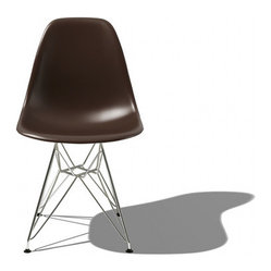 Eames Molded Plastic Side Chair & Eames Plastic Chairs | YLiving