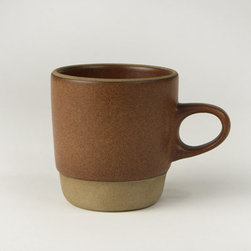 Canoe: Heath Rim Stacking Mug - Not only is this a classic Edith Heath mid-century design filled with style, it's also a space saver, as the coffee mugs stack.