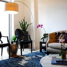 Modern Living Room by Michelle Dirkse Interior Design