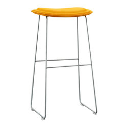 Cappellini CPE1011Hi Pad Counter Stool | All Modern - Features: