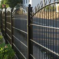 Mediterranean Home Fencing And Gates My fence