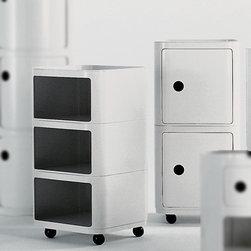 Kartell - Kartell | Componibili Round- Single Standard Unit - Design by Anna Castelli Ferrieri, 1969.