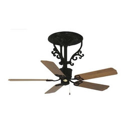 Americana Ceiling Fan, Short Stem