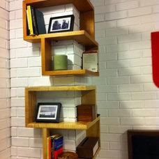 interior. Cool Design Inspiration of Kid Corner Shelf : Astonishing Wooden Corne