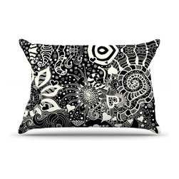 """Kess InHouse - Monika Strigel """"Neptunes Garden"""" Pillow Case, King (36"""" x 20"""") - This pillowcase, is just as bunny soft as the Kess InHouse duvet. It's made of microfiber velvety fleece. This machine washable fleece pillow case is the perfect accent to any duvet. Be your Bed's Curator."""