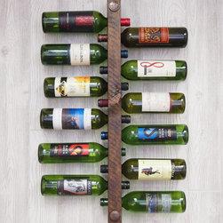 12 Bottle High Capacity Wall Wine Rack -