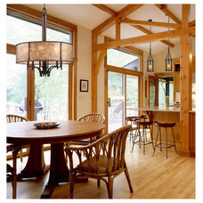 Rustic Kitchen by Littman Bros Lighting