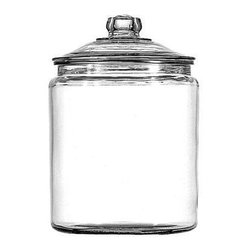 Anchor Hocking - 1gal Heritage Hill Jar - 1 Gallon Heritage Hill Jar, Clear.